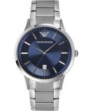 Emporio Armani AR2477 Mens klassisk blå silver watch