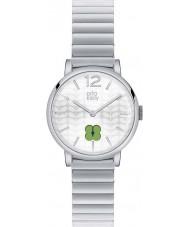 Orla Kiely OK4003 Damer Frankie silver stål armband klocka