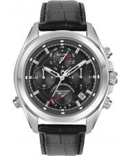 Bulova 96B259 Man precisionist svart läderrem chronographklockan