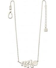 Orla Kiely N4015 Damer buddy silver stem mönster halsband