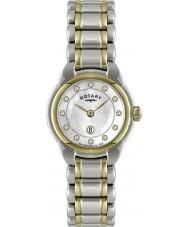 Rotary LB02602-41L Damer klockor två ton watch