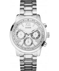 Guess W0330L3 Damer soluppgång silver stål armband klocka