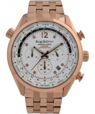 Krug-Baumen 100109DM Mens air explorer diamant begränsad upplaga klocka