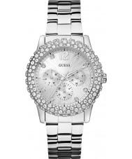 Guess W0335L1 Damer Dazzler silver stål armband klocka