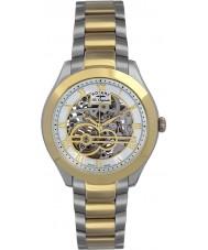 Rotary GB90515-10 Mens les origin jura silver guld automatisk klocka