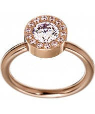 Edblad 83275 Damer thassos steg guldpläterad ring - storlek q (l)