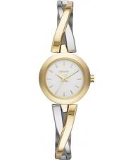 DKNY NY2171 Damer övergångsställe guld silver watch