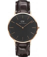 Daniel Wellington DW00100128 Klassiskt svart york 40mm klocka