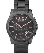 Armani Exchange AX2086 För män grå ip kronograf klänning klocka