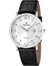 Festina F16476-3 Mens läderband watch