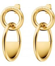 Calvin Klein KJ8GJE100100 Ladies lockade örhängen