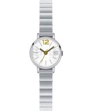 Orla Kiely OK4005 Damer Frankie silver stål armband klocka