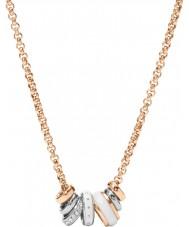 Fossil JF01122998 Damer klassiker steg guld stål halsband
