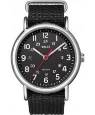 Timex T2N647 Mens alla svarta weeke slinka igenom klocka