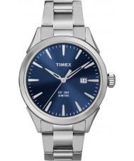 Timex TW2P96800 Mens Chesapeake silver stål armband klocka