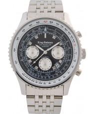 Krug-Baumen 600303DSA Mens air traveler diamant automatisk klocka