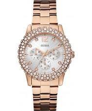 Guess W0335L3 Ladies dazzler ros guldpläterad armband klocka