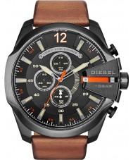 Diesel DZ4343 Mens mega chef svart brun chronographklockan