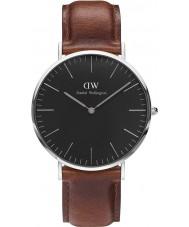 Daniel Wellington DW00100130 Klassiskt svart St Mawes 40mm klocka