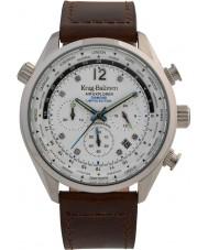 Krug-Baumen 100200DM Mens air explorer diamant begränsad upplaga klocka