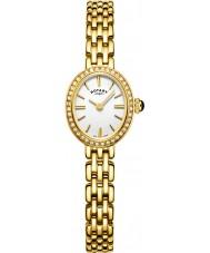 Rotary LB05051-02 Damer klockor cocktail guldpläterad armband klocka