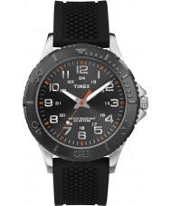 Timex TW2P87200 Mens taft street svart silikon rem klocka