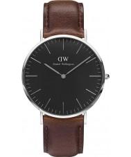 Daniel Wellington DW00100131 Klassiskt svart Bristol 40mm klocka