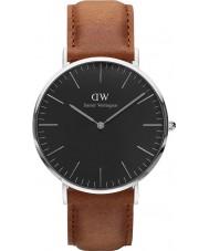 Daniel Wellington DW00100132 Klassiskt svart durham 40mm klocka