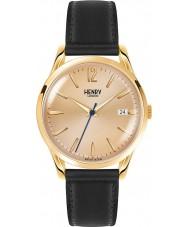 Henry London HL39-S-0006 Westminster mitten champagne svart klocka