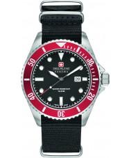 Swiss Military 6-4279-04-007-04 Man sjölejon svart nylonband klocka