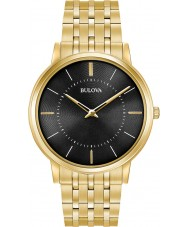 Bulova 97A127 Mens supertunna guldpläterad armband klocka