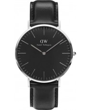 Daniel Wellington DW00100133 Klassiskt svart sheffield 40mm klocka