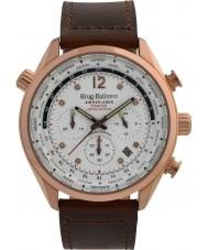 Krug-Baumen 100206DM Mens air explorer diamant begränsad upplaga klocka