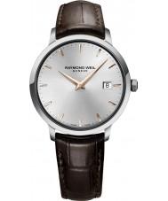 Raymond Weil 5488-SL5-65001 Mens toccata brunt läder Strap Watch