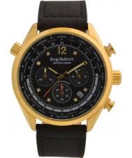 Krug-Baumen 100208DM Mens air explorer diamant begränsad upplaga klocka