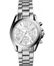 Michael Kors MK6174 Damer mini bradshaw silver chronographklockan