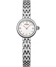 Rotary LB05052-02 Damer klockor cocktail silver stål armband klocka