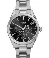 Timex TW2P97000 Mens Chesapeake silver stål armband klocka