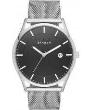 Skagen SKW6284 Mens holst silver armeringsnät armband klocka