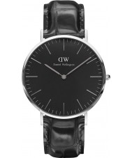 Daniel Wellington DW00100135 Klassiskt svart läsning 40mm klocka