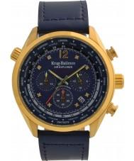 Krug-Baumen 100223DM Mens air explorer diamant begränsad upplaga klocka