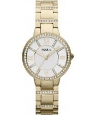 Fossil ES3283 Ladies Virginia guldpläterad armband klocka