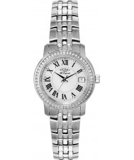 Rotary LB90090-41 Damer les origin silver stål armband klocka
