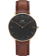 Daniel Wellington DW00100136 Klassiskt svart St Mawes 36mm klocka