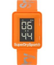 Superdry SYG204O Mens sprint digi apelsin silikon band watch