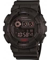 Casio GD-120MB-1ER Mens g-shock mattsvart plast rem klocka