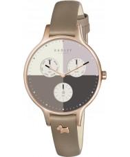 Radley RY2430 Damer abbey skogsmark läder chronographklockan