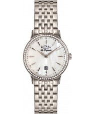 Rotary LB90050-41 les origin kensington stål watch damer