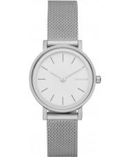 Skagen SKW2441 Damer Hald silver armeringsnät armband klocka