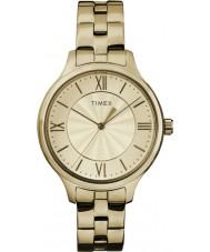 Timex TW2R28100 Ladies stil förhöjd peyton klocka